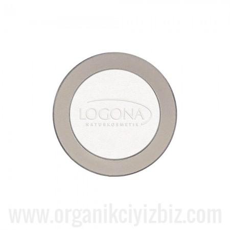 Organik Tekli Göz Farı Boz - Parlak 03 - 2g - 02317 - Logona