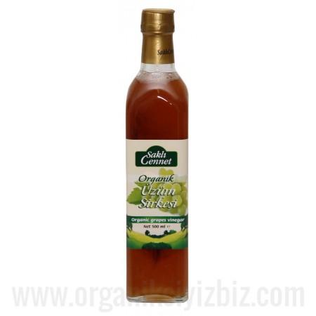 Organik Üzüm Sirkesi 500 ml - Saklı Cennet