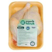 Organik Yarım Tavuk (Donuk) - Yeşil Küre