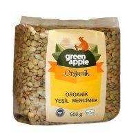 Organik Yeşil Mercimek 500gr - Green Apple