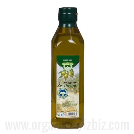 Organik Zeytinyağı (Soğuk Sıkım) 500ml - Ecoliva