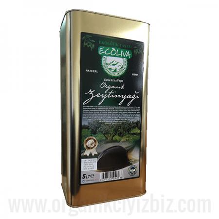 Organik Zeytinyağı (Soğuk Sıkım) 5lt - Ecoliva