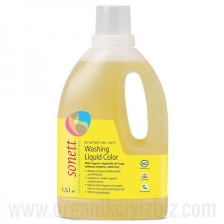 Renkli Çamaşırlar İçin Yıkama Sıvısı 1,5L - B5040 - Sonett