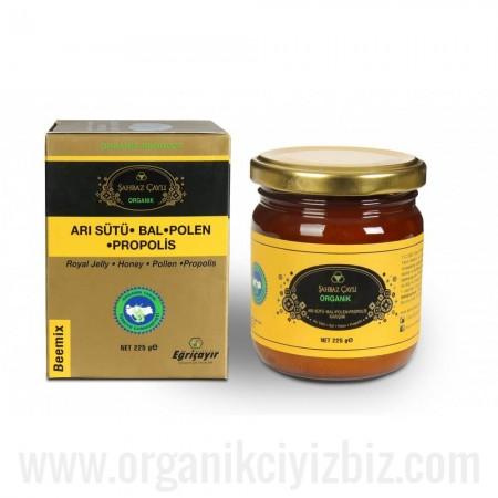 Şahbaz Çaylı Bio Bal-Polen-Arı Sütü Propolis 225g - Eğriçayır