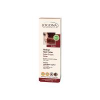 Sarı & Kahve Renkli Saçlar İçin - Bordo Doğal Krem Boya 150ml - 01118 - Logona