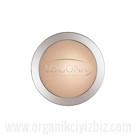 Sıkıştırılmış Pudra- Açık Bej 01 - 02380 - Logona
