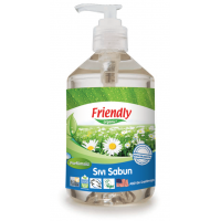 Sıvı El  Sabunu - Parfümsüz 500ml - FR0379 - Friendly