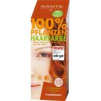 Toz Saç Boyası - Alev Kızılı - 100 gr - 40186 - Sante