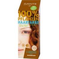 Toz Saç Boyası - Fındık Kabuğu - 100 gr - 40183 - Sante