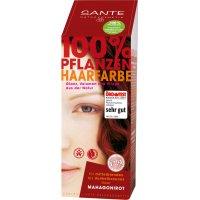 Toz Saç Boyası - Mahagoni Kızılı - 100gr - 40185 - Sante