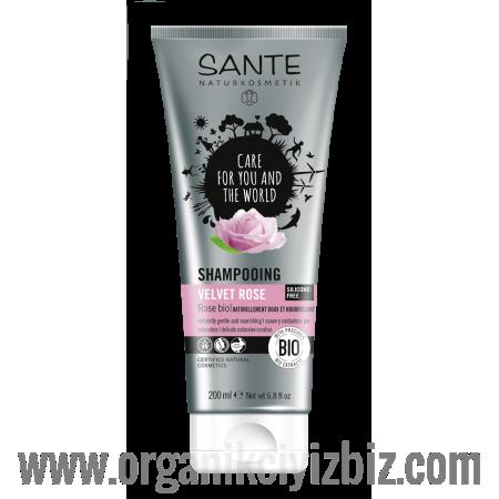Yumuşak Bakım - Organik Kadife Güllü Şampuan 200 ml - 44556 - Sante