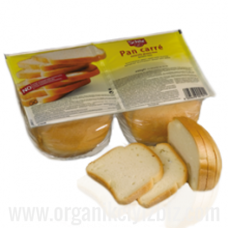 Dilimlenmiş Beyaz Ekmek - Pan Carre 400g - Glutesiz - Schar