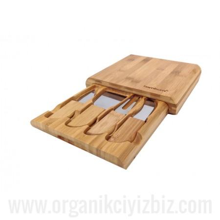 Doğal Gravyer - Peynir Seti - Bambum