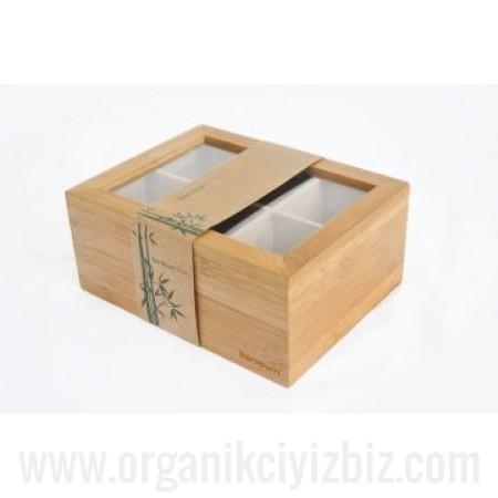 Doğal Misto - Çay Kabı - Bambum