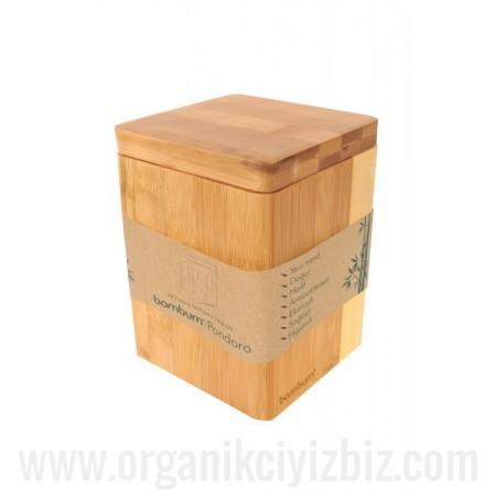Doğal Pandoro - Saklama Kabı - Bambum