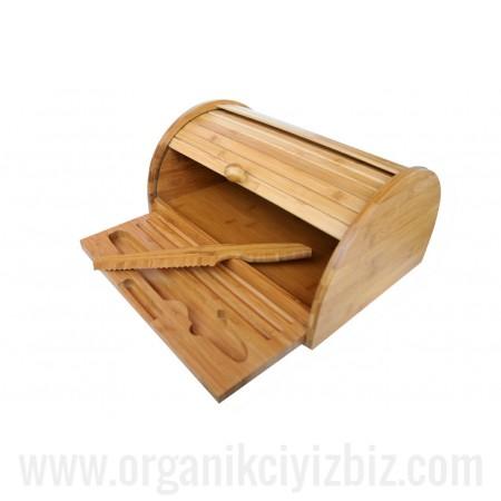 Doğal Panino - Bıçaklı Ekmek Kabı - Bambum