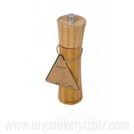 Doğal Paprika - Karabiber Öğütücü Küçük - Bambum