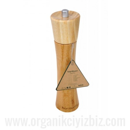 Doğal Paprika - Karabiber Öğütücü Orta - Bambum