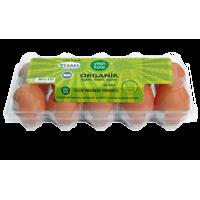 Organik 10'lu Yumurta - Yeşil Küre