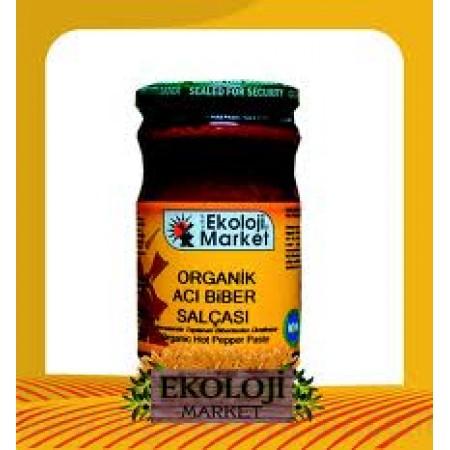 Organik Acı Biber Salçası 660gr - Ekoloji Market