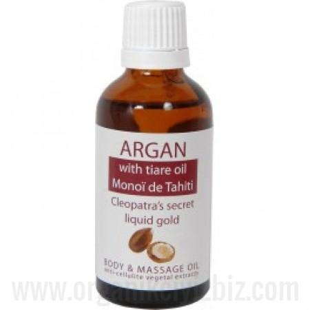 Organik Argan - Monoï de Tahiti - Vücut ve Masaj Yağı