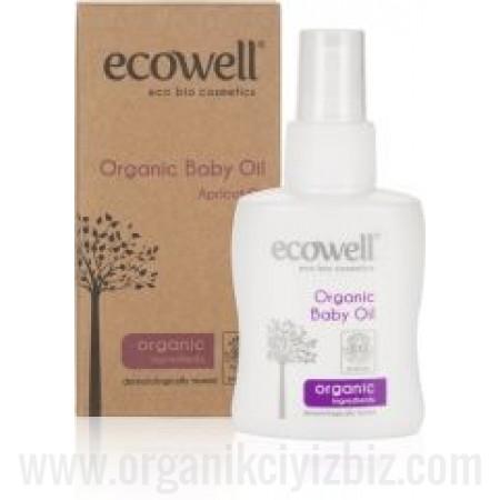Organik Bebe Yağı 100ml - Ecowell