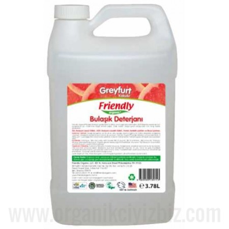 Organik Bulaşık El Deterjanı - Greyfurt 3lt - Friendly