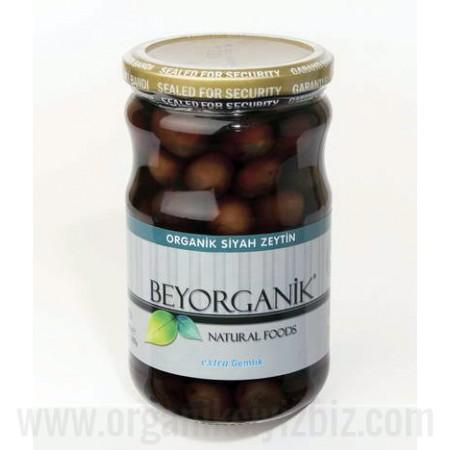 Organik Exktra Siyah Zeytin - Bey Organik