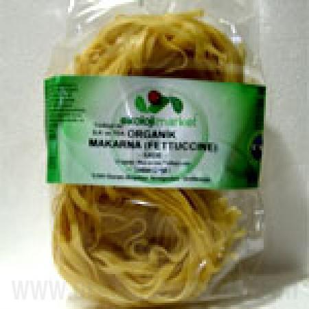 Organik Fettucine (Sade) 250gr - Ekoloji Market