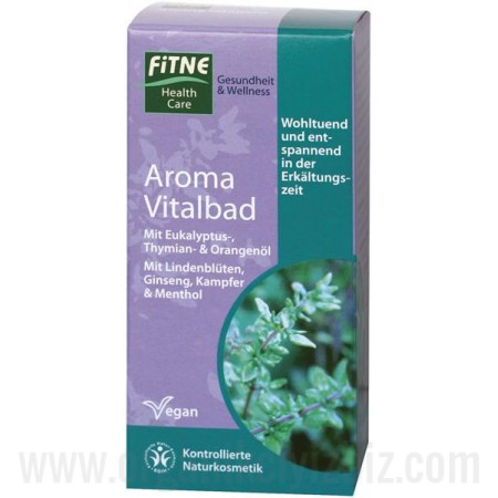 Organik Fitne Aromatik Canlandırıcı Banyo Suyu 150ml - Fitne
