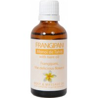 Organik Frangipani - Monoï de Tahiti - Vücut ve Masaj Yağı