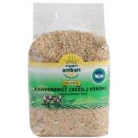 Organik Kahverengi Pirinç 500 gr - Orgagen Ambarı