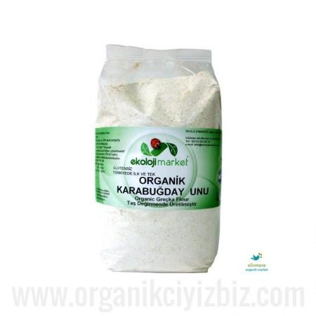Organik Karabuğday Unu - Greçka Glutensiz 1kg - Ekoloji Market