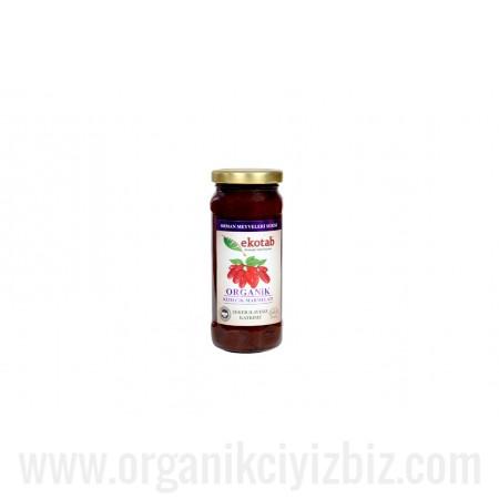 Organik Kızılcık Marmelatı (300gr) Ekotab