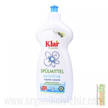 Organik Klar Elde Bulaşık Yıkama Sıvısı- Kokusuz 500 ml