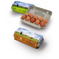 Organik Köy Yumurtası 10'lu - Kor