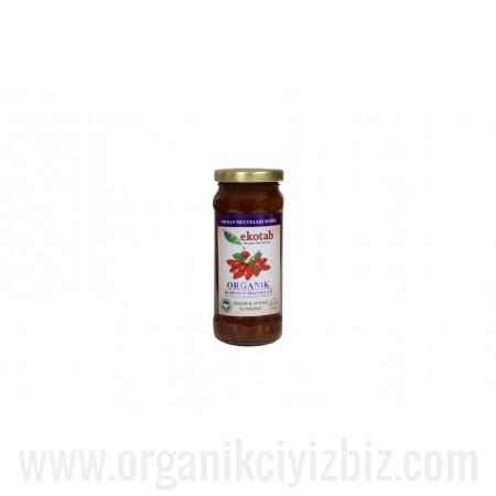 Organik Kuşburnu Marmelatı (300gr) Ekotab
