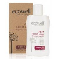 Organik Likit Yüz Temizleme Sabunu 150ml - Ecowell