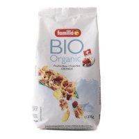 Organik Meyveli Tahıllı Tahıl Gevreği 375 gr - Bio Organik