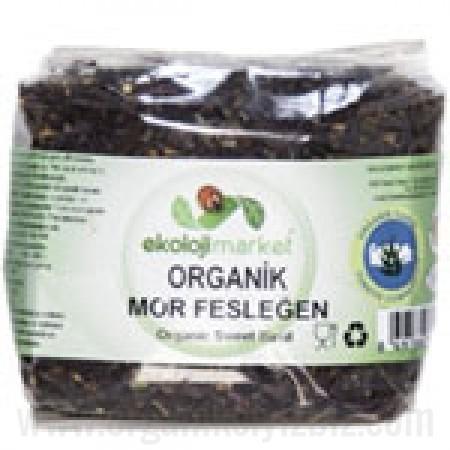 Organik Mor Fesleğen (Reyhan) 50gr - Ekoloji Market