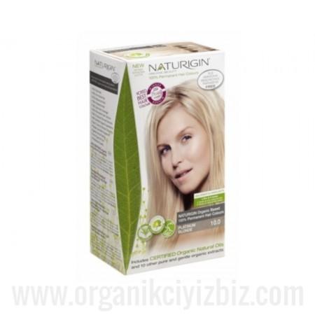 Organik Naturigin-Organik Saç Boyası-10.0 Platin Sarı