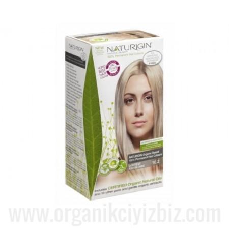 Organik Naturigin-Organik Saç Boyası-10.2 Çok Açık Kül Sarısı