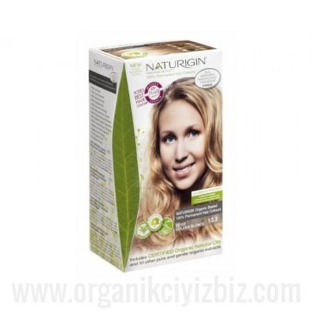 Organik Naturigin-Organik Saç Boyası-10.3 Altın Sarısı