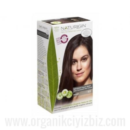 Organik Naturigin-Organik Saç Boyası-4.0 Kahverengi