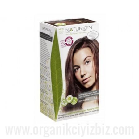 Organik Naturigin-Organik Saç Boyası-5.3 Koyu Sarı