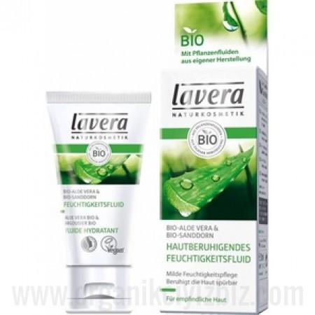 Organik Nemlendirici Krem - Aloevera - Yalancı İğde - Hassas Ciltler için