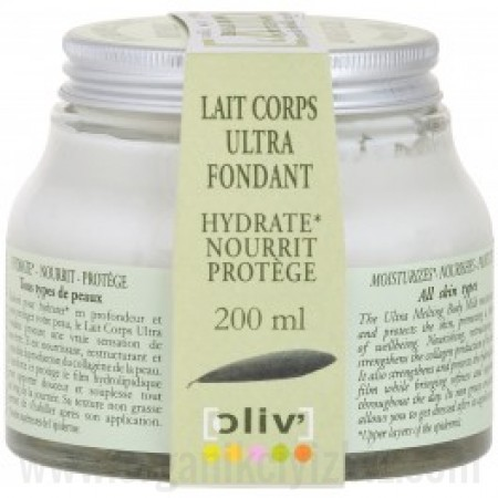 Organik Oliv-Ultra Yumuşatıcı Vücut Sütü 200ml.