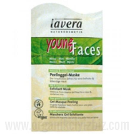 Organik Pullanmayı Önleyici Peeling Maske - Naneli - Yağlı Ciltler için