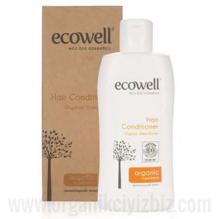 Organik Saç Bakım Kremi 200ml - Ecowell