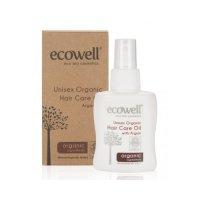 Organik Saç Bakım Yağı 100ml - Ecowell
